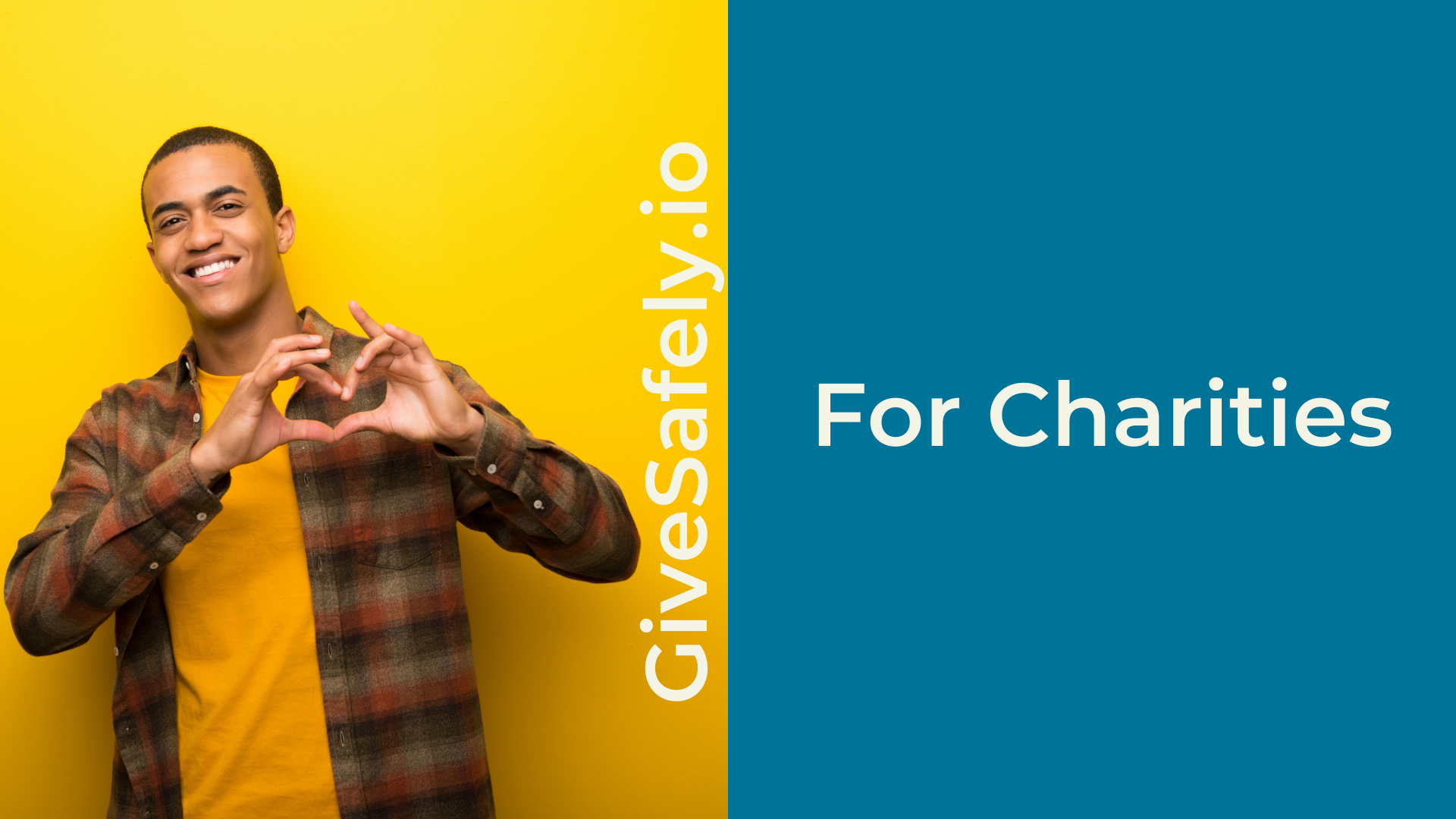 charities page header