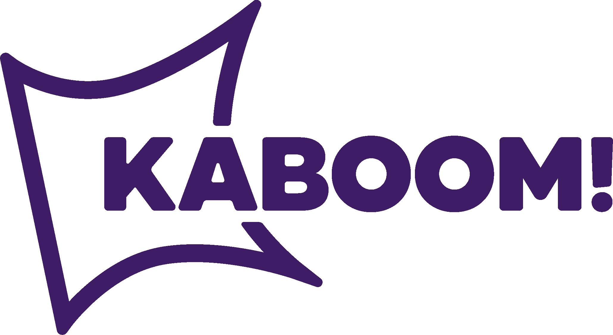 Kaboom Logo Violet
